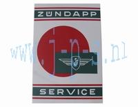 MUURSCHILD ZUNDAPP SERVICE 40 x 60 CM