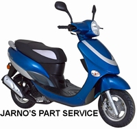 TURBHO CX-50 SNOR-SCOOTER BLAUW 25KM