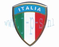 STICKER 3D ITALIAANS SCHILD GROOT