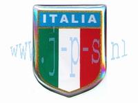 STICKER 3D ITALIAANS SCHILD KLEIN