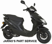 TURBHO CD-50 SNOR-SCOOTER ZWART 25KM