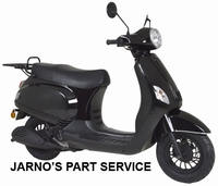 TURBHO RL-50-B ( MODEL LX ) SNOR-SCOOTER ZWART 25KM