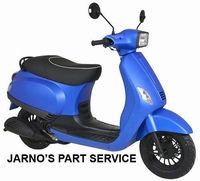TURBHO RV-50-B ( MODEL S ) SNOR-SCOOTER MAT-BLAUW 25KM