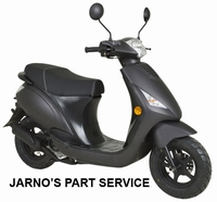 TURBHO CZ-50-B  SNOR-SCOOTER MAT ANTRACIET 25KM