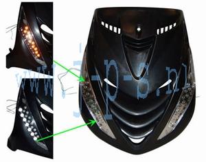 KNIPPERLICHTSET LED  ZIP 2000 VOOR+DAGRIJLAMPEN.