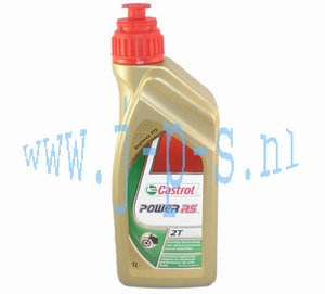 TWEETAKT OLIE VOL SYNTHETISCH CASTROL POWER RS 1 LTR